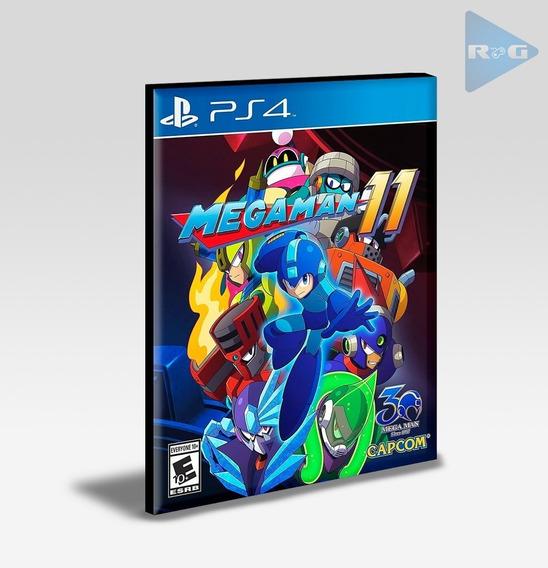 Mega Man 11 Ps4 - Envio Agora