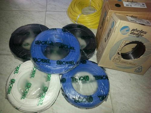 Cable 12 Thw Rollo Cabel Pack De 50 Metros