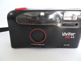 Câmera Máquina Fotográfica Antiga Vivitar Ps 44 Coleção