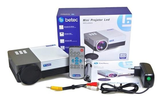 Mini Projetor Led Portátil 800 - Luments - Betec Bt260