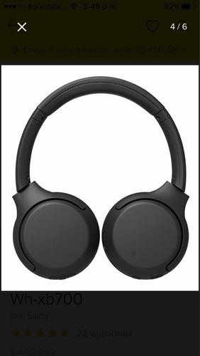 Audífonos Sony Inalámbricos Extra Bass - Wh-xb700