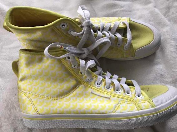 Zapatillas adidas Botita 27 Cms De Suela Usadas
