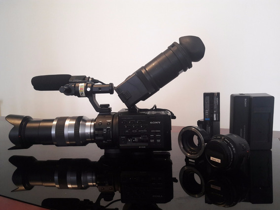 Câmeras Sony Fs100 Super 35mm 1080p 60fps Sem Juros!!