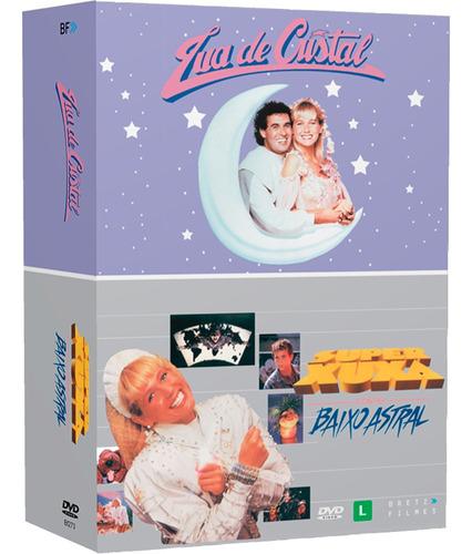 Dvd Box - Xuxa: Lua De Cristal + Super Xuxa Contra Baixo Ast