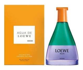 Perfume Locion Agua De Loewe Miami Beac - L a $1950