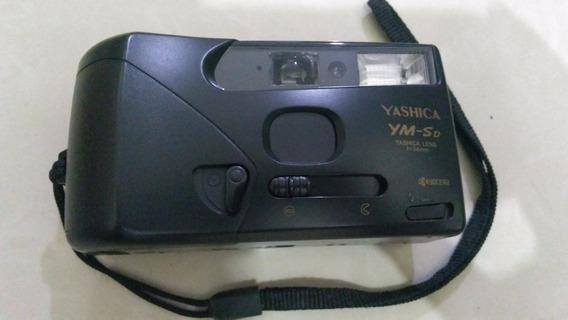 Máquina Fotográfica Antiga Anos 80 - Revelação Yashika Ym-sd
