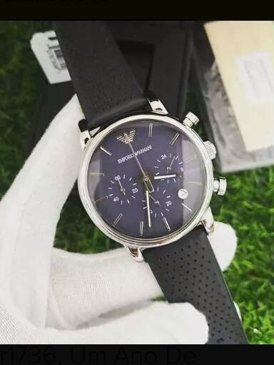Relógio Armani Ar1736, 1 Ano De Garantia
