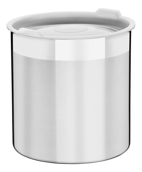 Contenedor Tramontina Cucina Acero Inox C/tapa 16 Cm 3.2 L
