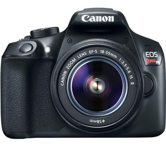 Canon Eos Rebel T6 Kit Ef-s 18-55mm Is Ii Seminova