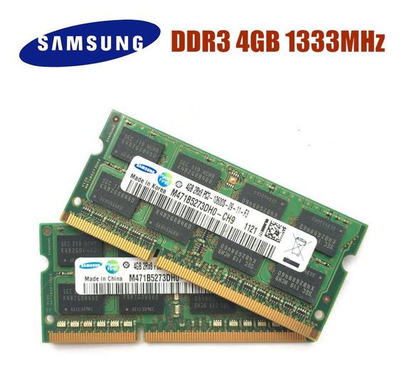 Memoria Notebook Ddr3 4gb Sodimm Samsung Hynix Nuevas Compatibilidad Envio Gratis Fac A Y B Envio Gratis