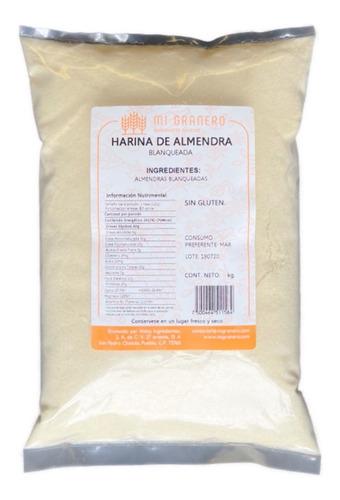 Imagen 1 de 2 de Harina De Almendra 1 Kilogramo