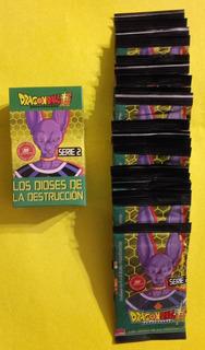 Cartas Dragón Ball Z Serie 2 - 4 Cajas Completas Y 25 Sobres