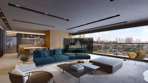 Apartamento Com 3 Dormitórios À Venda, 167 M² Por R$ 1.810.000,00 - Lapa - São Paulo/sp - Ap47130