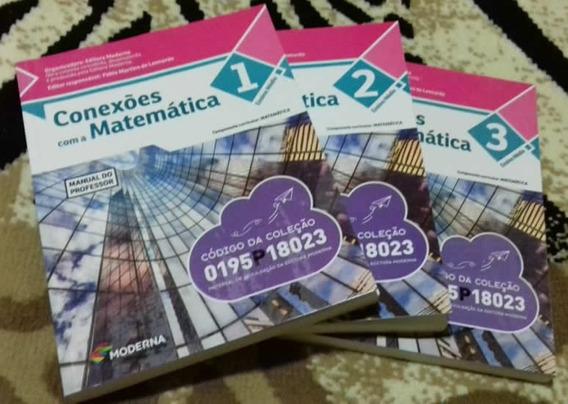 Conexões Com A Matemática - 3 Volumes (frete Grátis)