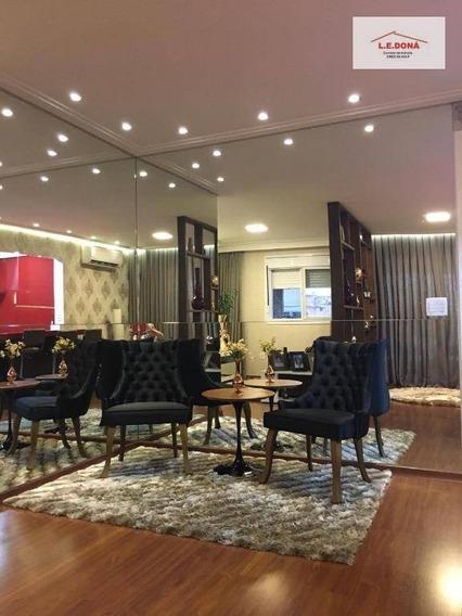 Apartamento Com 3 Dormitórios À Venda, 85 M² Por R$ 680.000,00 - Jaguaré - São Paulo/sp - Ap2046