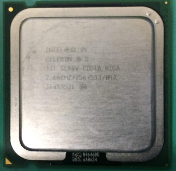 Processador Intel Celeron D 331 2.66ghz