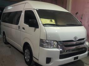 Toyota Hiace 2.7 Ventanas Superlarga Mt 2018