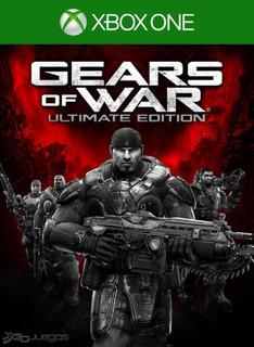 Juego Gears Of War Ultimate Edition Xbox One Original Fisico