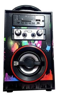 Parlante Portatil 3w Bluetooth Musica Karaoke Mp3 Control