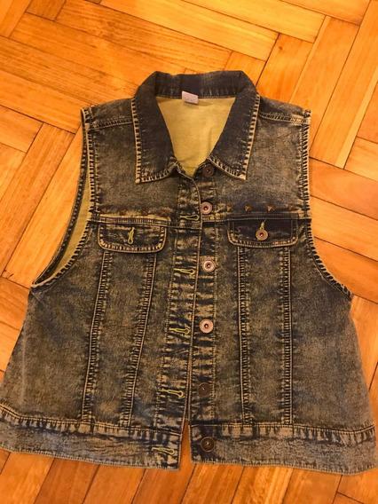Zumba Chaleco Jeans Importado Excelente Estado Graka