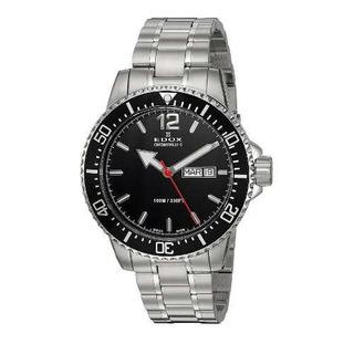 Reloj Edox Chronorally-s 843003mnbn Hombre   Envío Gratis