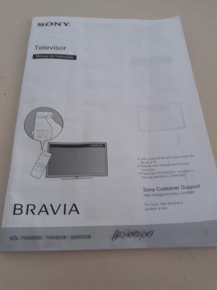Smart Tv Sony Bravia 70 Polegadas Avariado/tela Danificada