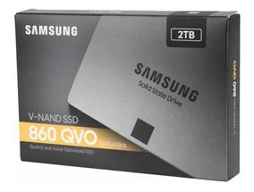 Hd Ssd 2tb Sata 3 860 Qvo Samsung Sata Iii 3 Anos De Gar Nfe