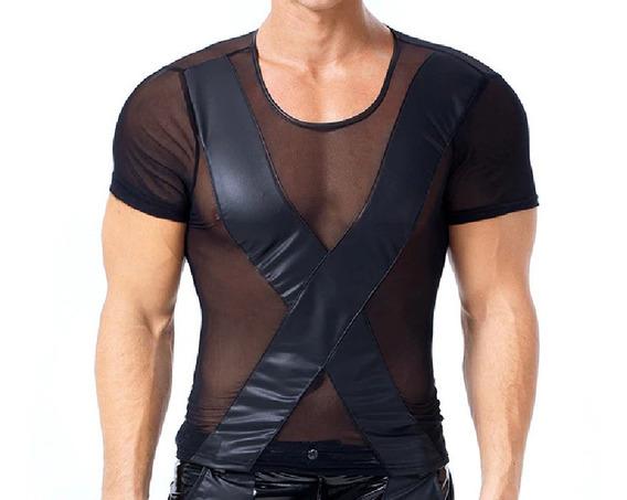 Camiseta Transparente X