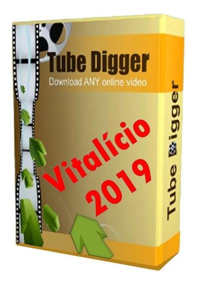 Tubedigger - Chave De Ativação + Vitalicio