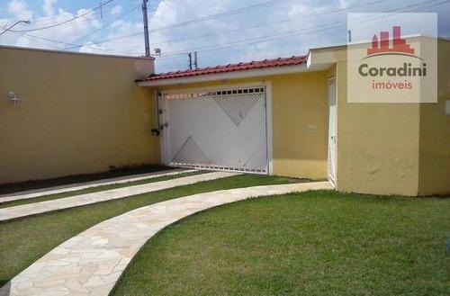 Imagem 1 de 6 de Casa  Residencial À Venda, Parque Residencial Klavin, Nova Odessa. - Ca0561