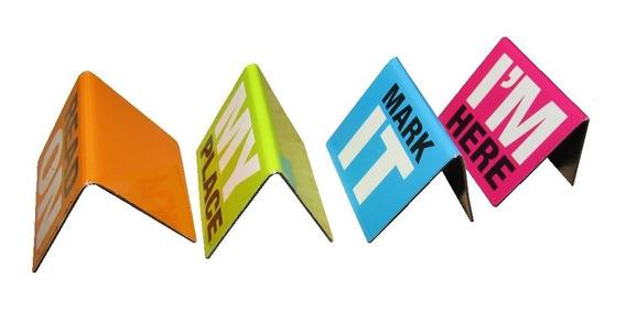 4 Señalador Separadores Libros Magnetizados - Lisboa