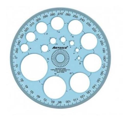 Regla Para Círculos | Artesco | 15cm