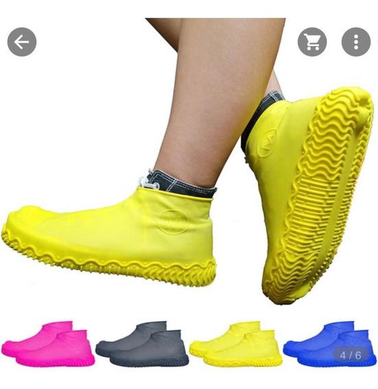Botas Para Lluvia Plásticas