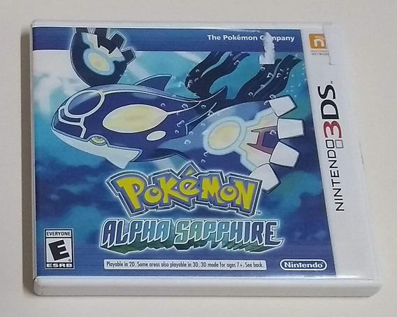 Pokémon Alpha Sappire Original Para Nintendo 3ds