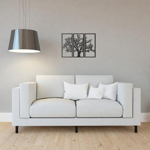 Quadro Decorativo Parede Natureza Árvore Galhos Secos 60cm
