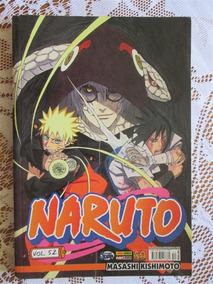 Naruto 52 - Primeira Publicação - Masashi Kishimoto