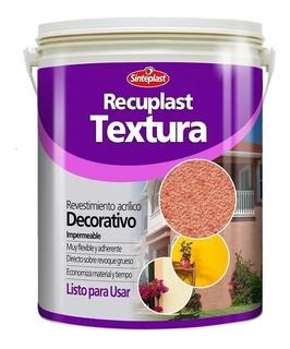 Recuplast Textura Revestimiento 25k Blanco Medio Sinteplast Universo Pinturerias