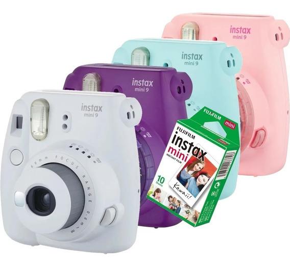 Câmera Instax Mini 9 Instantanea Fujifilm - Diversas Cores