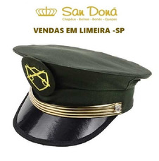b81574237cae1 Gorro Militar Exército Original 53 A 62 San Doná Desde 1995 · Quepe Exército  Tamanhos  54 A 61 San Doná Desde 1995