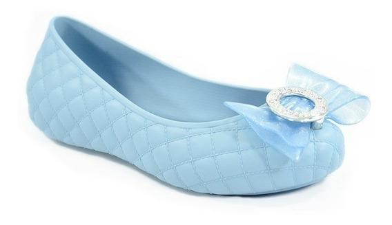Sapatilha Frozen Magical Azul Opaco - 21649