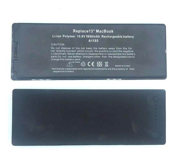 Baterial Macbook 13 A1185 A1181 Ma561 Black 5600mah