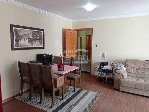 Apartamento 2 Dormitórios, 1 Vaga Na Vila Mazzei - Cf34430