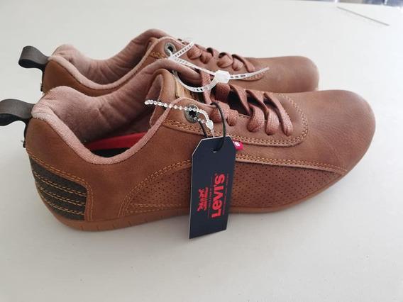Zapatos Levis Talla 7 1/2 Originales Para Hombre
