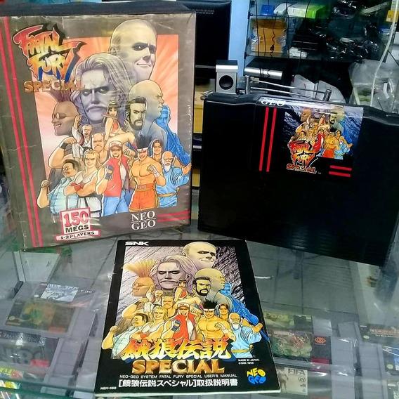 Neo Geo Fatal Fury Special Aes Completo Original
