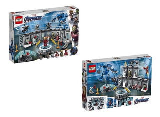 Lego Avengers End Game Salon De Armas Iron Man 524ps Maltrat