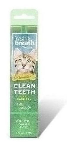 Imagen 1 de 1 de Gel Fresh Breath Para Dientes De Gato 59 Ml