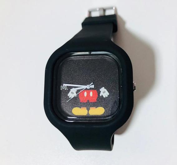 Relógio Mickey Mouse Disney Adulto E Infantil Troca Pulseira