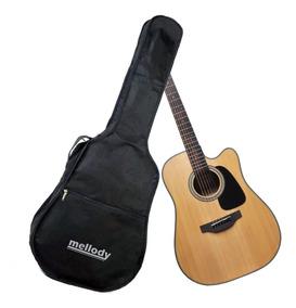 Capa Bag Violao Folk Standard Mellody Ka11 Kadu Som Full