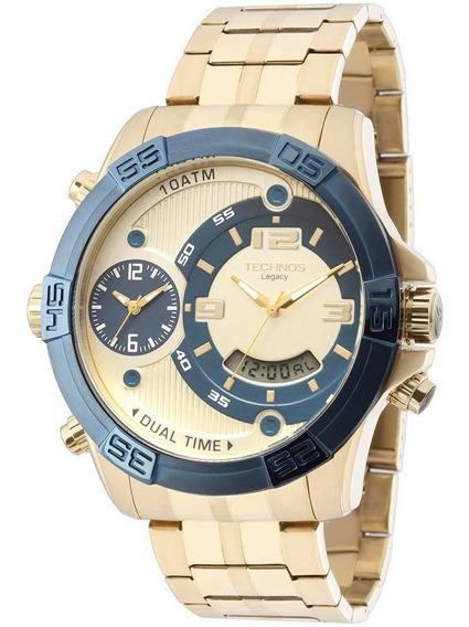 Relógio Technos Legacy Dourado Masculino T205fu/4x