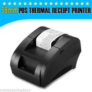 Impresora Térmica 58 Mm Ticket